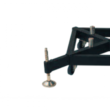 OUTR-S02-eurotruss short Steel Outrigger