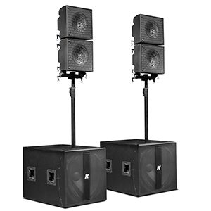 "KRX402 – Powered Mid-high 12"" Speakers"