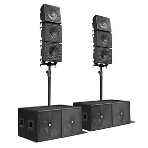 "KRX802 – Array, 6 Mid-high 12"" Coaxial Speaker"