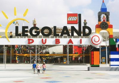 Lego Land uses Irregular truss structure for attraction park