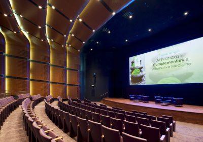 Mohammed Bin Rachid University main auditorium stage full lighting and rigging solution