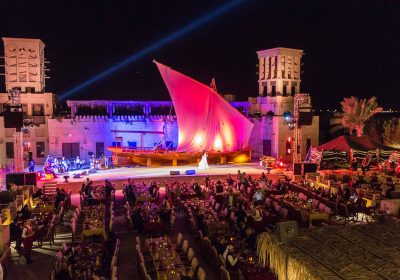 Dubai's cultural and musical desert experience chooses K-array