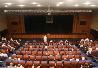 Dibba Theater, chooses K-array's Python array element as front of house at Cultural Theater