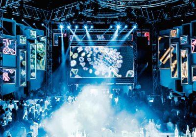 3D video mapping wall for Dubai night club