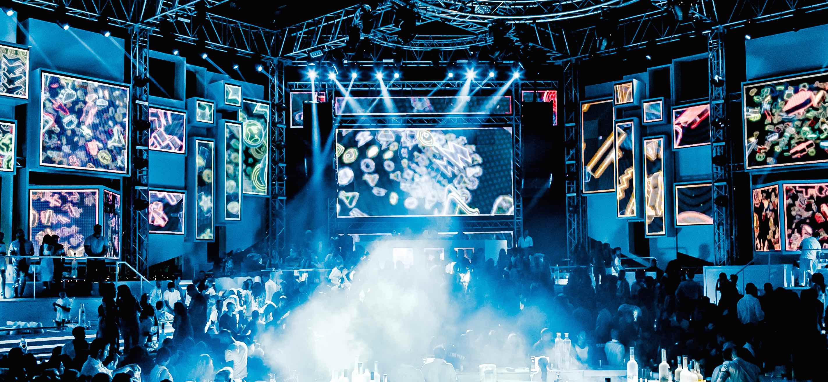 Supply Of Lighting And Video Mapping Projection To White Dubai