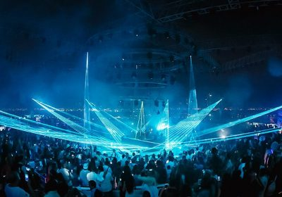 White club, chooses Procom Middle East for Laser show solution