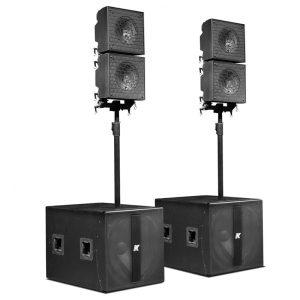"KRX402 – Powered Mid-high 12"" Speakers"
