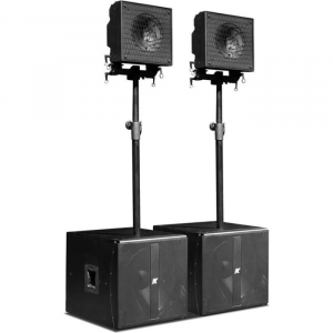 """KRX202 – Small, Powered, 12"""" Coaxial Speakers"""