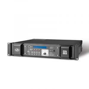 DX 80 I – DSP processing amplifiers