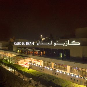 Casino du Liban chooses Cyclops Lighting for its outdoor architectural and effects lighting