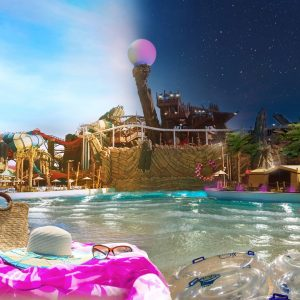 K-array, waterproof moving lights and wireless DMX make the perfect solution for Yas WaterWorld Abu Dhabi ladies night