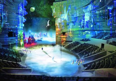 La Perle Dubai's extravagant show by Dragone chooses Antari Low Fog and Snow machines