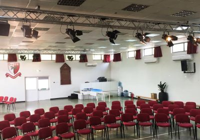 Dubai English Speaking School Hall gets an AV renovation