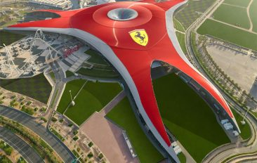 Ferrari World Abu Dhabi Opts for K-array for its Shows