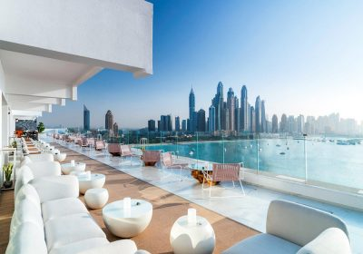 Five Palm Jumeirah Opts For Outdoor Lighting Solution By Cyclops Lighting