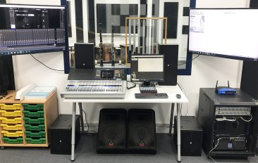Horizon English School Upgardes Audio System for its Music Rooms and Recording Studio
