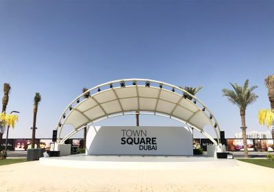 Town Square Dubai by Nshama Gets Full Audio and Lighting Solution for its Park