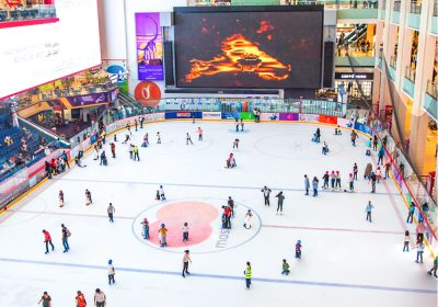 Dubai Ice Rink Reconfiguration of BGV-C1 Chain Master Hoists