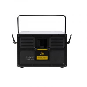 COMET 3 000 Laser show system with scanner Front
