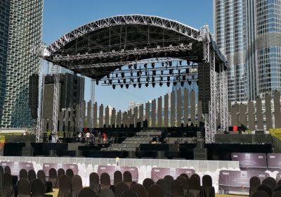 Dubai Celebrates National Day & New Year's with Eurotruss