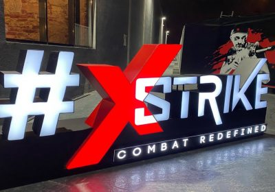 Xstrike's Real-life Gaming Experience is brought to life with full Lighting and Sound package