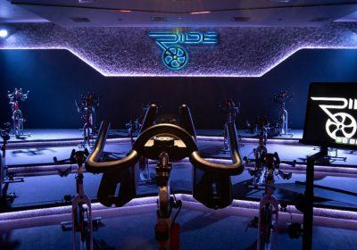 RIDE Spinning Studio creates an immersive audiovisual experience with DAS Audio, Cyclops Lighting & Madrix