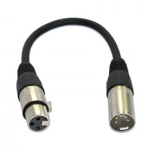 DMX XLR Cable Adapter 5 Pin Male to 3 Pin Female 20 cm