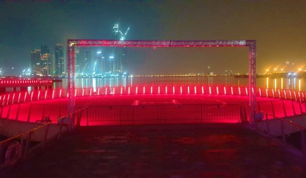 Dubai Festival City's New Imagine Bay Show Is Back with Cyclops Lighting